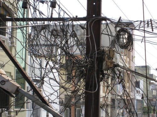 Power Line Infrastructure in Vijayvada