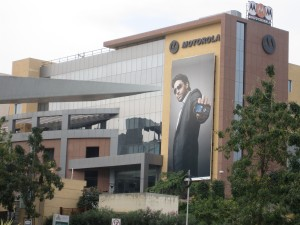 Motorola in Hyderabad's HITEC city