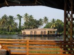 Houseboats along the backwaters