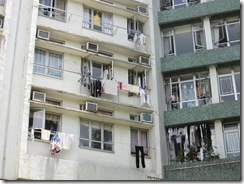 Clothes Hanging from HK residences