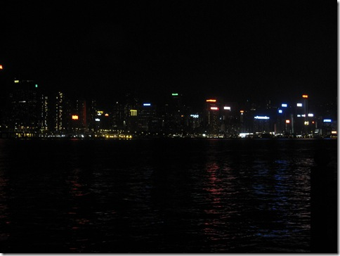 HK Skyline at Night